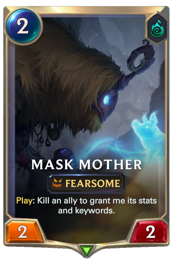 Mask Mother Card Image