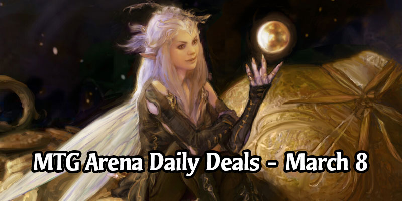 Daily Store Deals in MTG Arena for March 8, 2020 - 98% Off All That Glitters