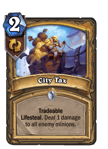 City Tax Card Image