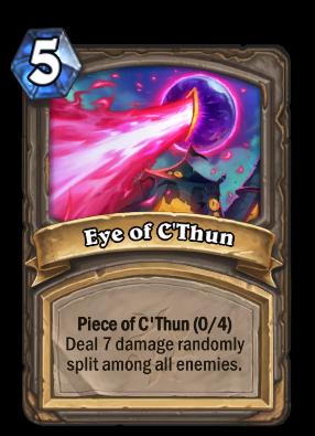 Eye of C'Thun Card Image