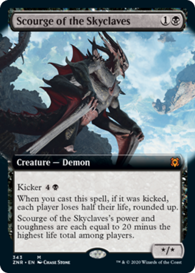 Scourge of the Skyclaves Card Image