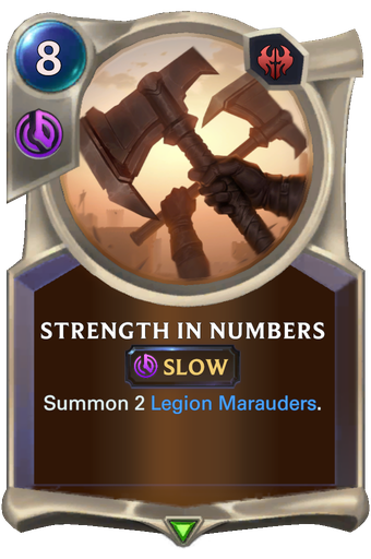 Strength in Numbers Card Image