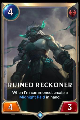 Ruined Reckoner Card Image