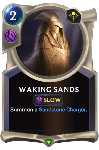 Waking Sands Card Image