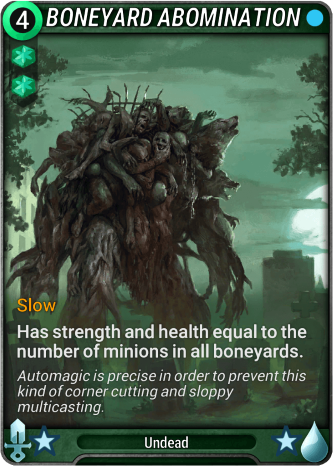 Boneyard Abomination Card Image