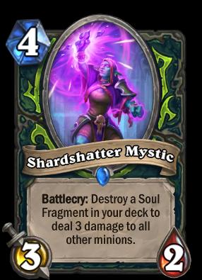 Shardshatter Mystic Card Image