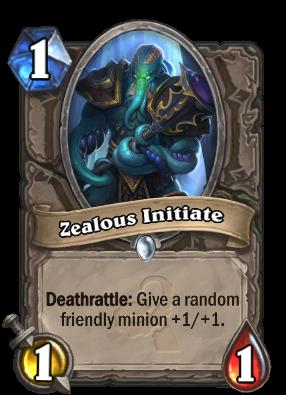Zealous Initiate Card Image