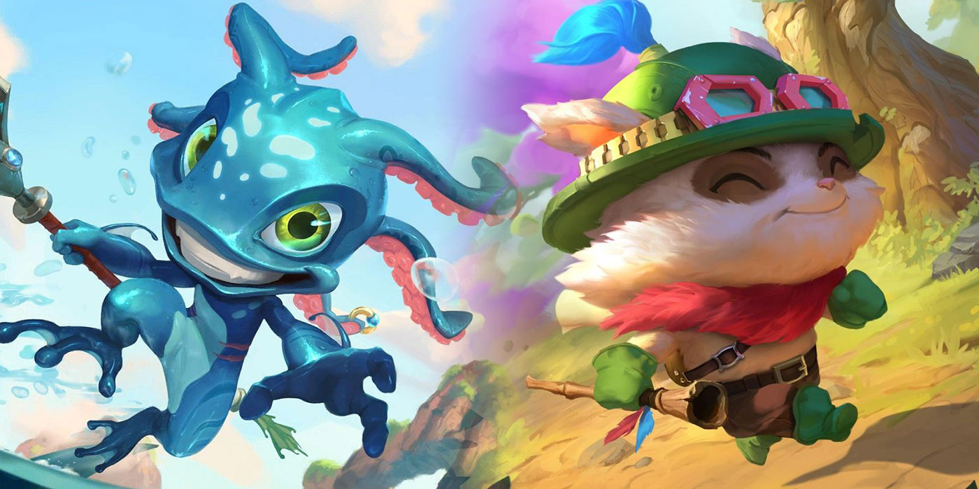 Fizz & Teemo Old Art Return as Free Skins in the Shop,  Bug Fixes - Runeterra Patch 2.16.0