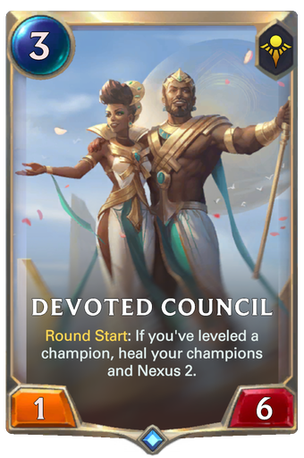 Devoted Council Card Image
