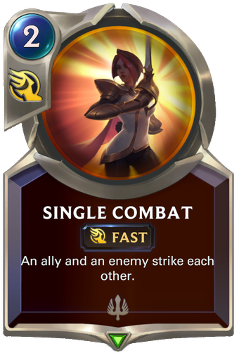 Single Combat Card Image