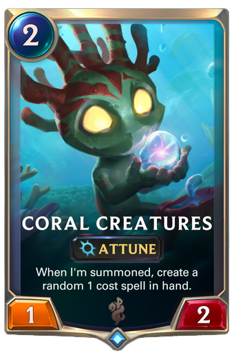 Coral Creatures Card Image