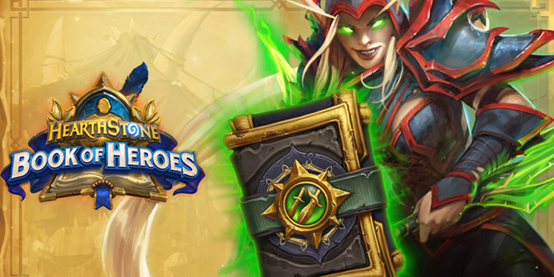Book of Heroes Valeera & Gladiator Valeera Bundle is Now Live! Earn 1 Free Rogue Card Pack