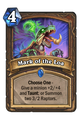 Mark of the Loa Card Image