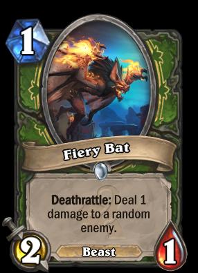 Fiery Bat Card Image