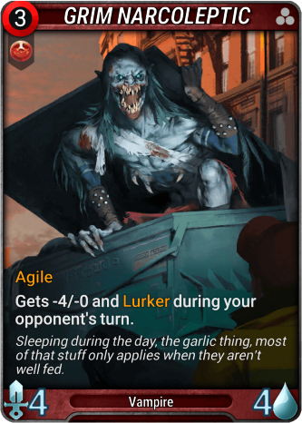 Grim Narcoleptic Card Image