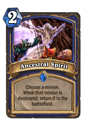 Ancestral Spirit Card Image
