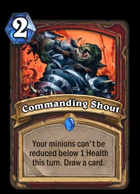 Commanding Shout Card Image
