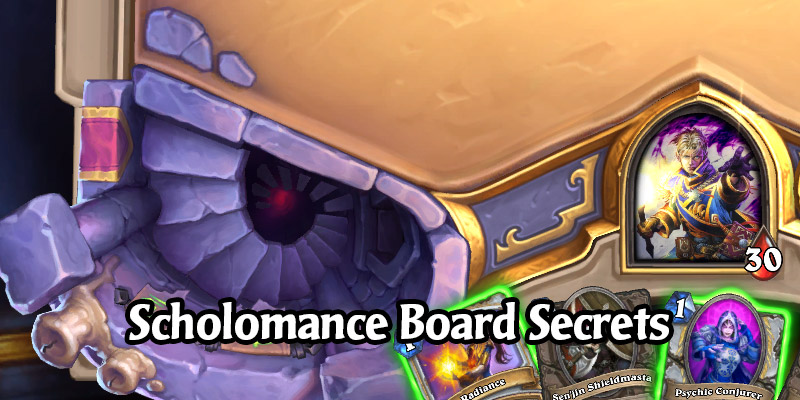 The Secret Scholomance Board Interaction Has Been Solved!