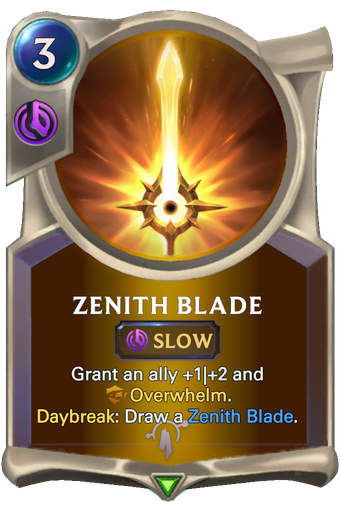 Zenith Blade Card Image