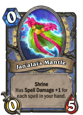 Jan'alai's Mantle Card Image
