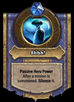 Shhh! Card Image