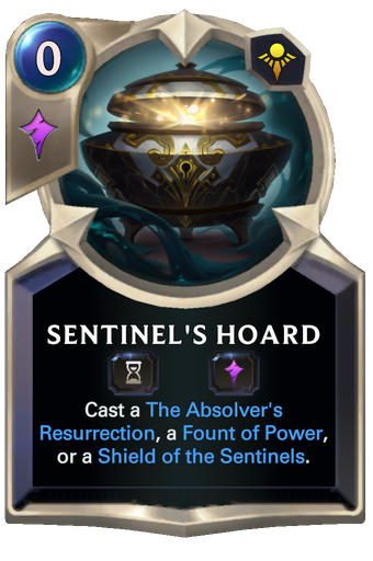 Sentinel's Hoard Card Image