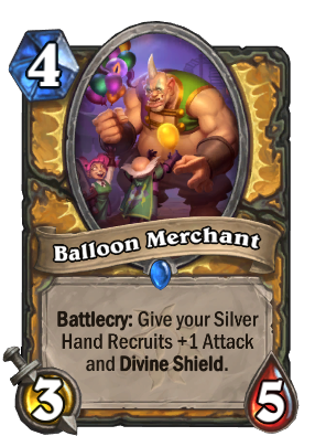 Balloon Merchant Card Image