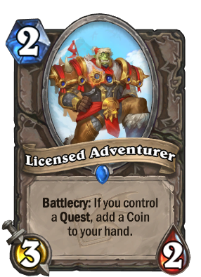 Licensed Adventurer Card Image
