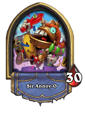 Sir Annoy-O Card Image