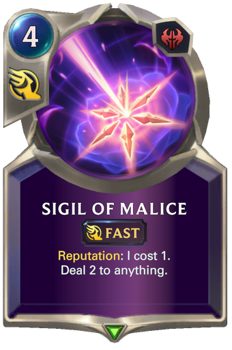 Sigil of Malice Card Image