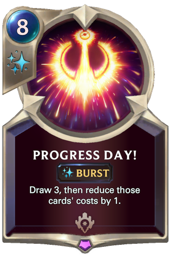 Progress Day! Card Image