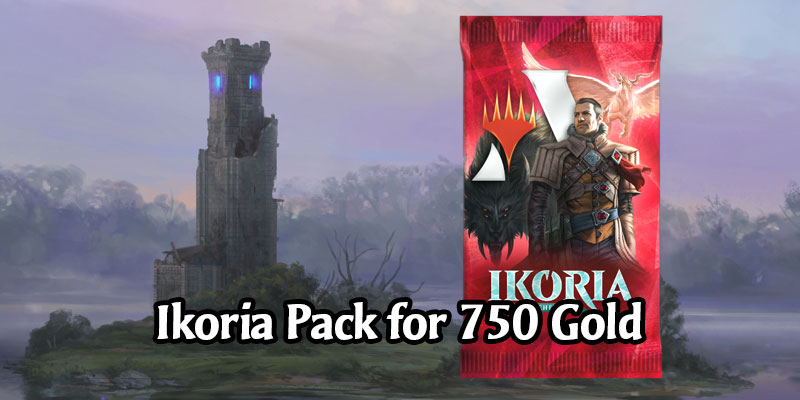 Get a 25% Discount on an Ikoria Pack on MTG Arena Today!