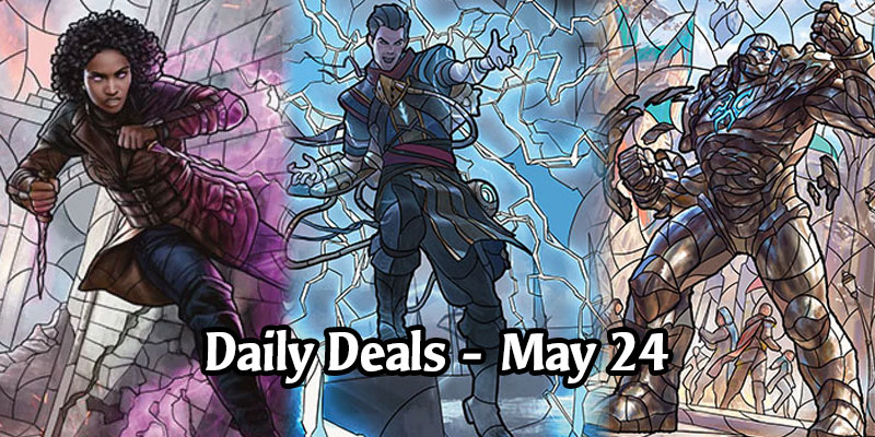 War of the Spark Stained Glass Planeswalkers are On Sale Today! 33% to 50% Discounts