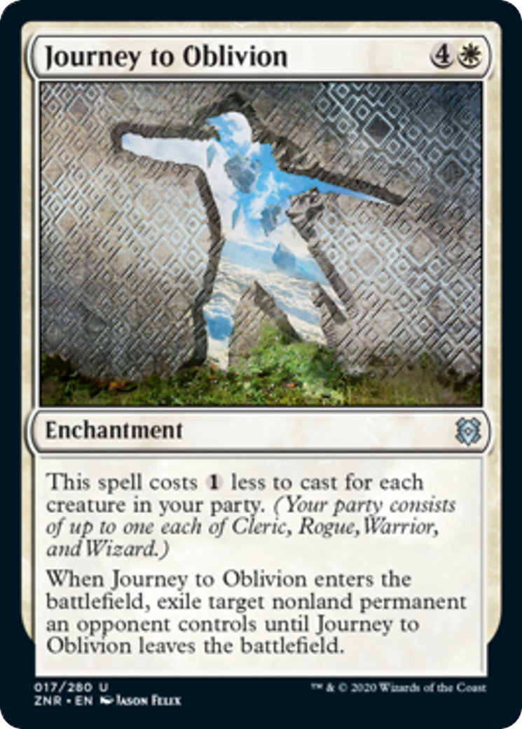 Journey to Oblivion Card Image