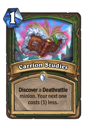 Carrion Studies Card Image