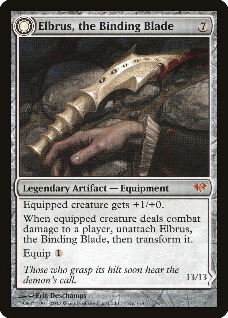 Elbrus, the Binding Blade // Withengar Unbound Card Image