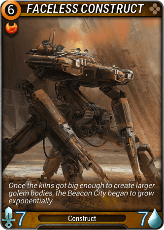 Faceless Construct Card Image