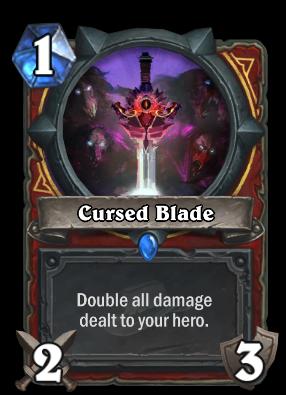 Cursed Blade Card Image