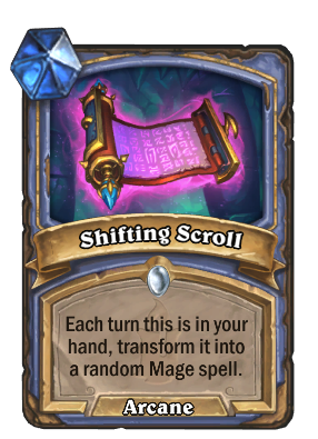 Shifting Scroll Card Image