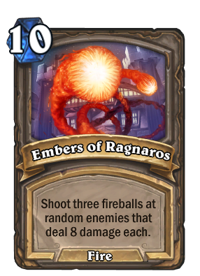 Embers of Ragnaros Card Image