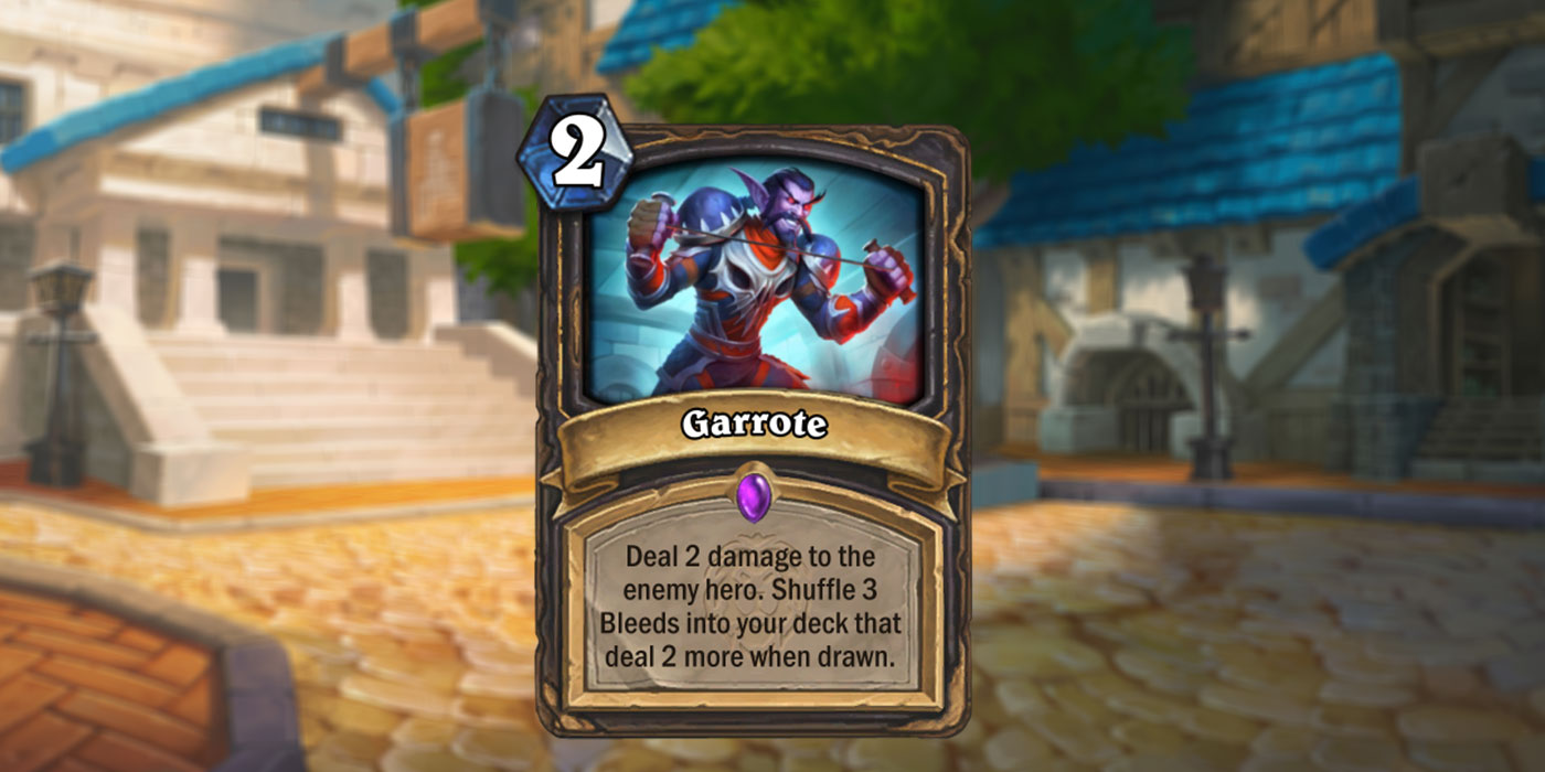 New Card Revealed for United in Stormwind by Automaton Media - Garrote