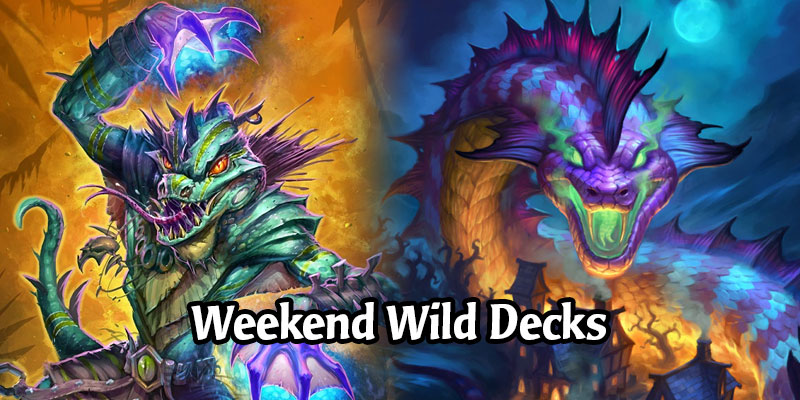 A Wild Hearthstone Weekend Featuring Odd Guardian Hunter, Dinomancer Warlock, Overload Shaman, and More!