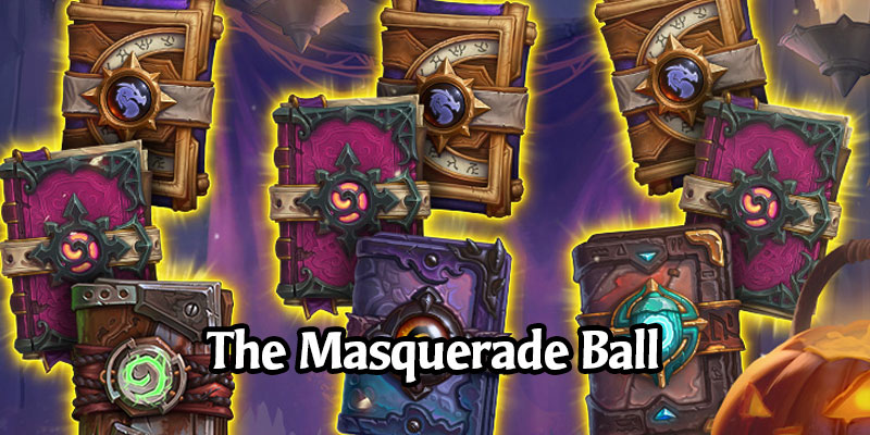 The Masquerade Ball - Hearthstone Gets a Spooky Scholomance Event for October 2020, Here's the Full Schedule