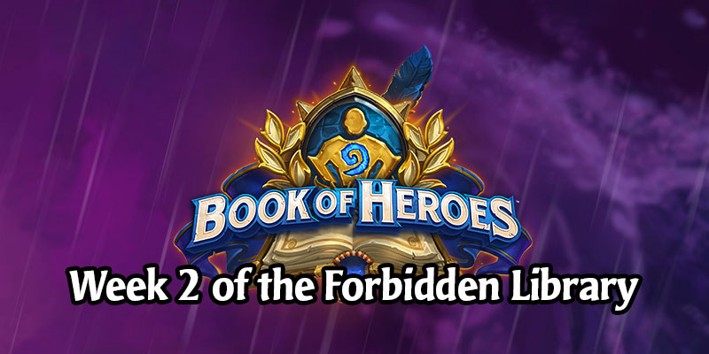 Week 2 of the Forbidden Library - Book of Heroes Adventure Releases Today Alongside the Scholar Jaina Hero