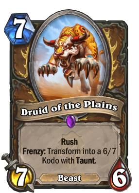 Druid of the Plains Card Image