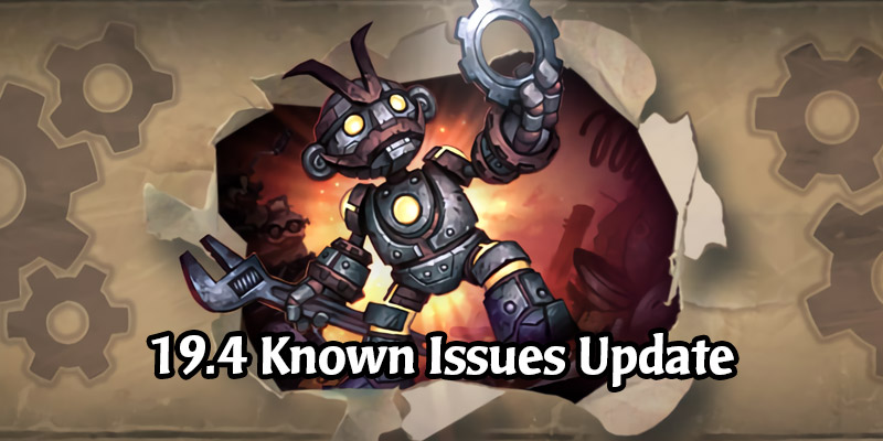 A New Hearthstone Update is Now Live to Fix Issues From Patch 19.4