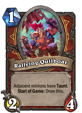 Rallying Quilboar Card Image