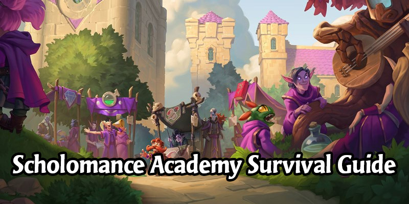 Scholomance Academy Launch Survival Guide - Everything You Need to Know & Day 1 Decks to Try