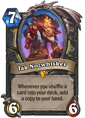 Tak Nozwhisker Card Image