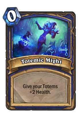 Totemic Might Card Image
